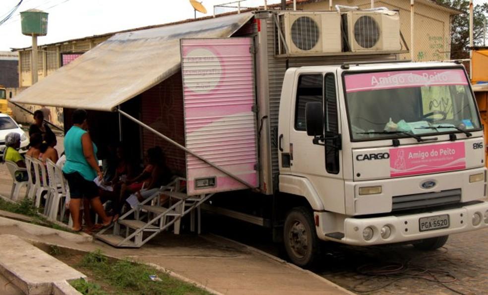 Mamamóvel em Olinda (Foto: Sandro Barros/Prefeitura de Olinda/Divulgação)