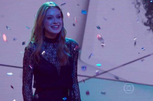 Marina Ruy Barbosa, a Eliza de 'Totalmente demais' (Foto: Reprodução)