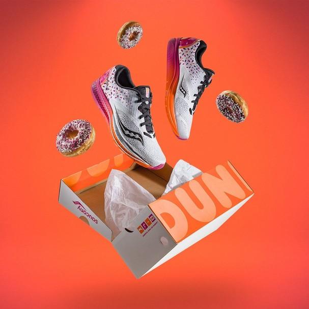 Tênis Dunkin' Donuts (Foto: Divulgação)