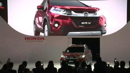 Honda WR-V tem lançamento mundial no Salão de São Paulo
