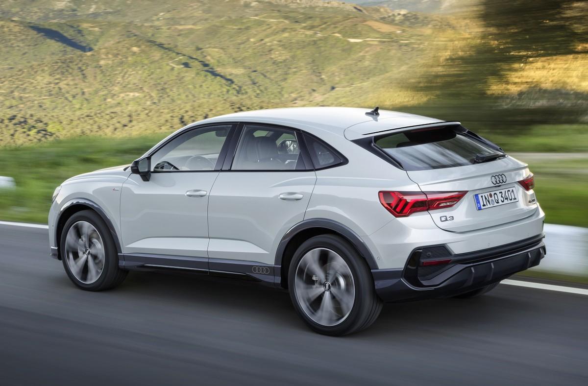 Audi Q3 ganha versão 'cupê' na Europa, mas não deve chegar ao Brasil