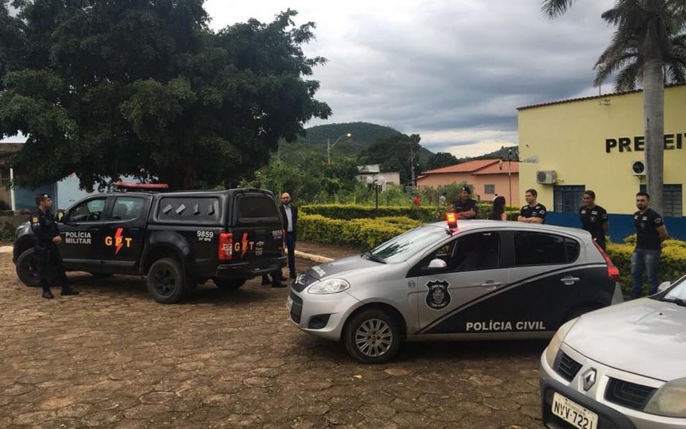 Grupo é preso suspeito de desviar combustível de prefeitura de Nova Roma (Foto: Divulgação/MP)