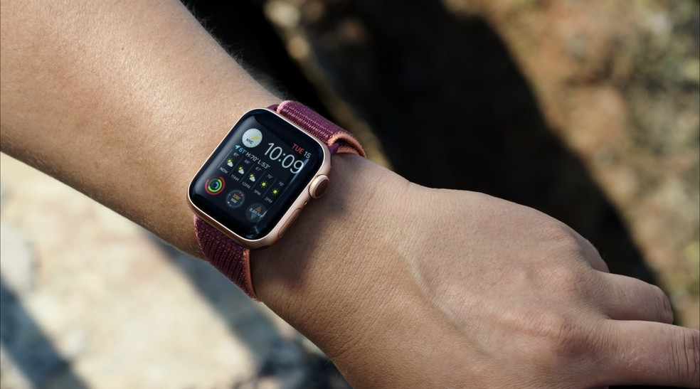 Apple Watch Series 6 estreou oxímetro — Foto: Reprodução/Apple