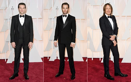 Bradley Cooper; Chris Pine; Keith Urban