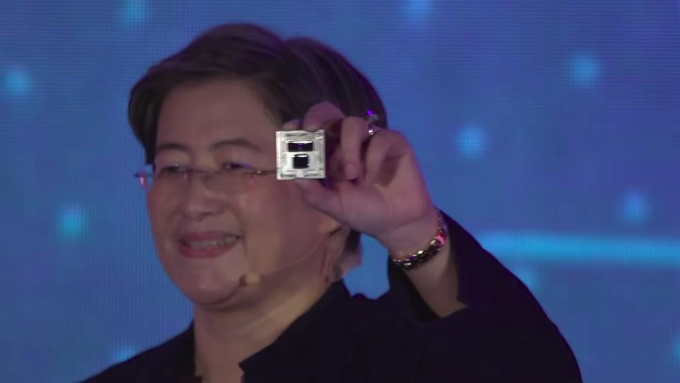Novos Ryzen de terceira geração usam tecnologia de 7 nanômetros � Foto: Divulgação/AMD