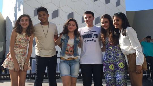 Ivete Sangalo leva participantes de seu time no 'The Voice Kids' para gravação de DVD
