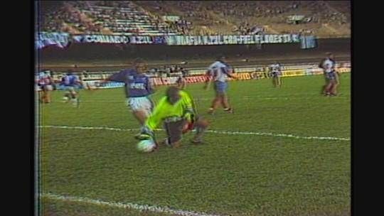 """Você se lembra? """"Menino Ronaldo"""" brilha pelo Cruzeiro e faz gol histórico no Bahia"""
