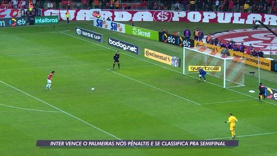 Inter vence o Palmeiras nos pênaltis e se classifica para a semifinal da Copa do Brasil