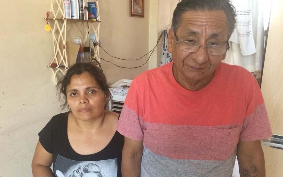 Faxineira Hilda Luz veio de Lima, no Peru, para o Brasil com o tio tentar uma vida melhor (Foto: Tatiana Santiago/G1)