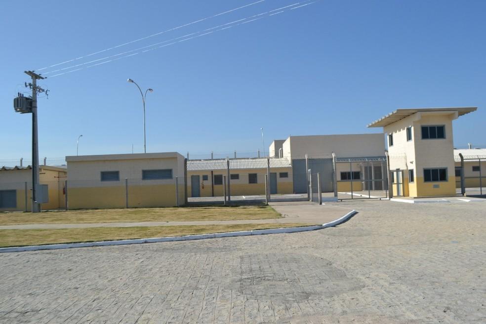 Penitenciária de Segurança Máxima, de onde os presos fugiram, fica localizada no complexo prisional em Maceió â?? Foto: Ascom/Seris