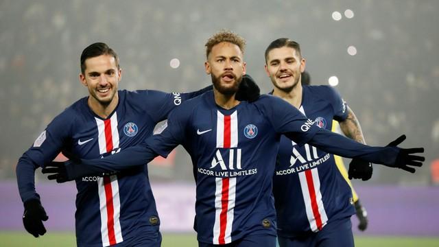 Neymar Icardi gol PSG Nantes