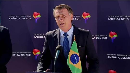 'Cada um que responda pelos seus atos', diz Bolsonaro sobre Temer