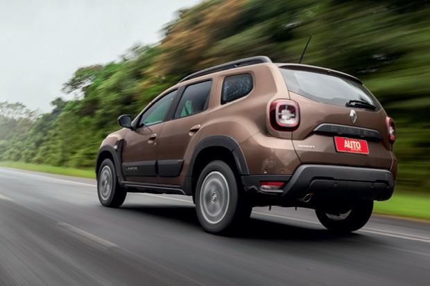 Novo Renault Duster: design novo  SUV manteve a estrutura, mas  tem para-brisa mais inclinado (Foto: Leo Sposito)