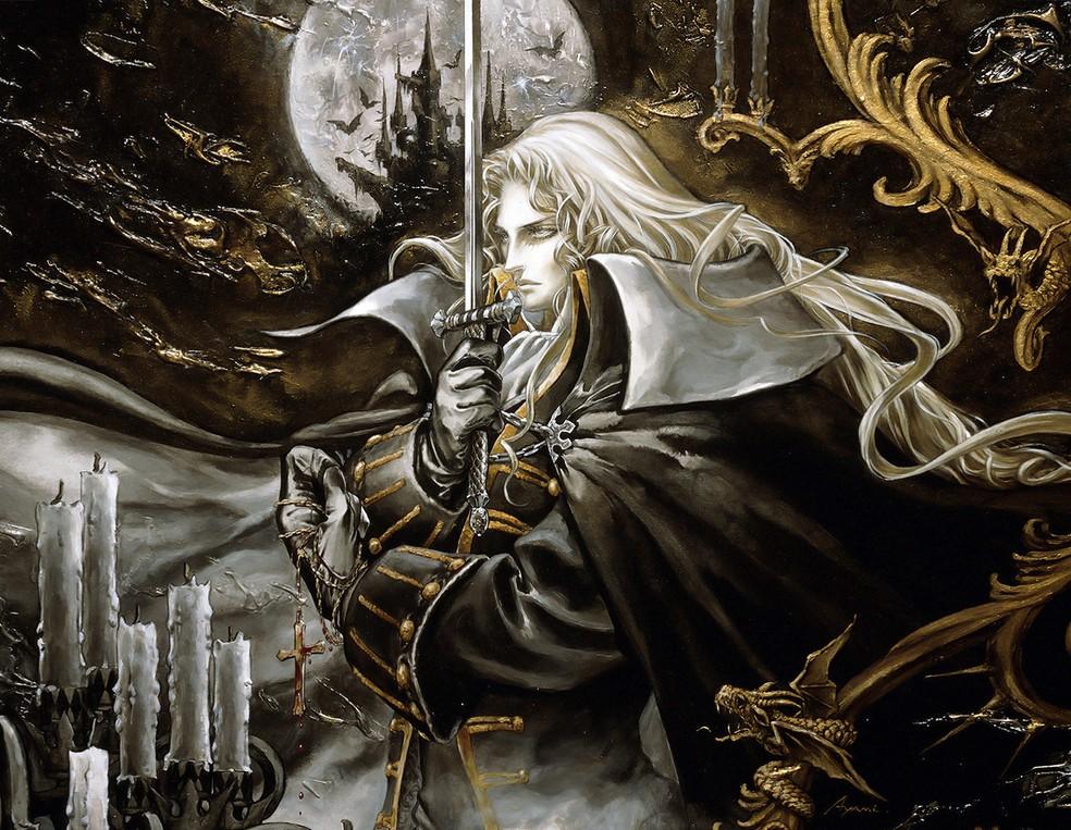 Resultado de imagem para Alucard Castlevania