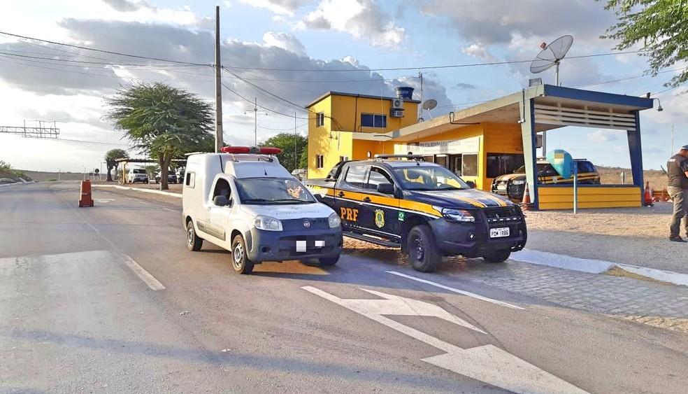 Fiscalização aconteceu em todo o estado, na quinta-feira (10) — Foto: Polícia Rodoviária Federal/Divulgação