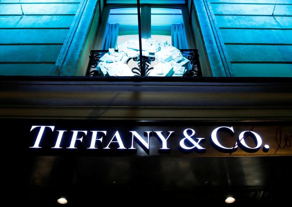 Loja da Tiffany em Paris — Foto: Gonzalo Fuentes/Reuters