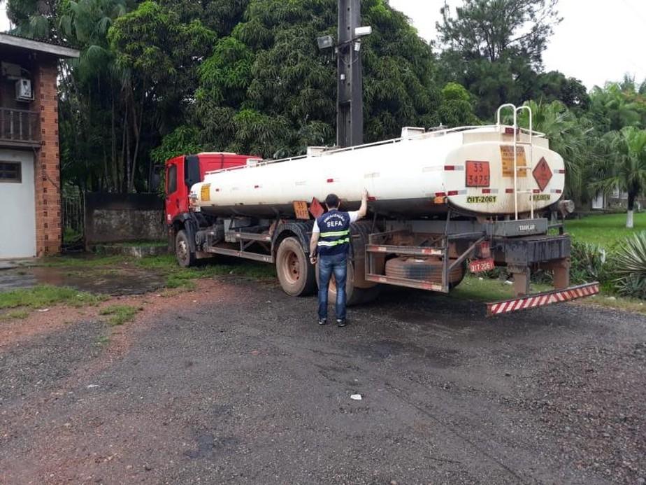 Carga de 10 mil litros de diesel é apreendia em Marabá