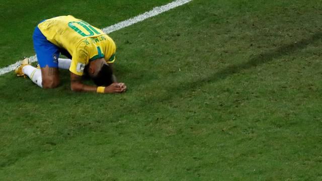 Neymar; Brasil x Bélgica