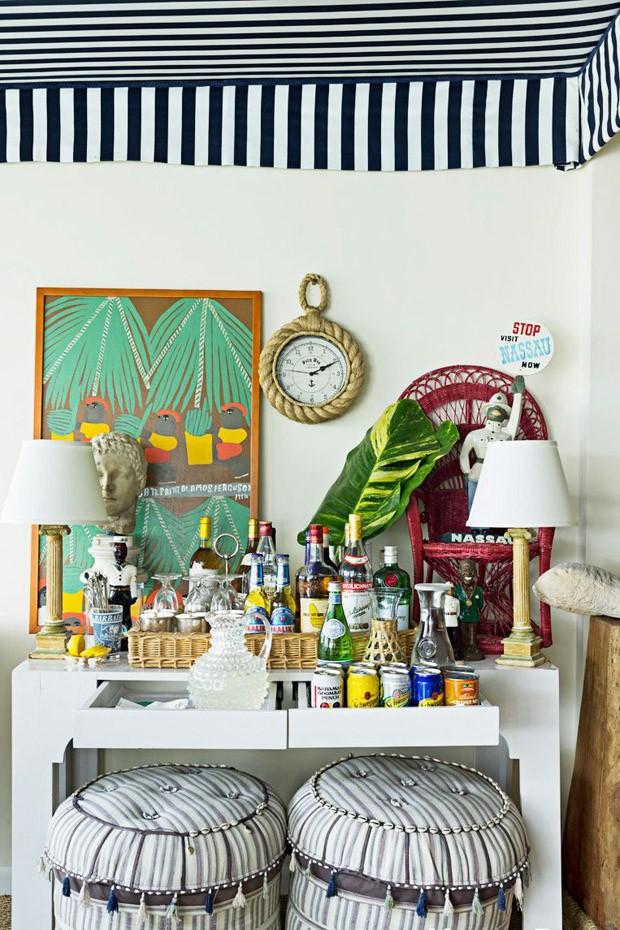 6 ideias criativas para montar um bar em casa  (Foto: Reprodução)
