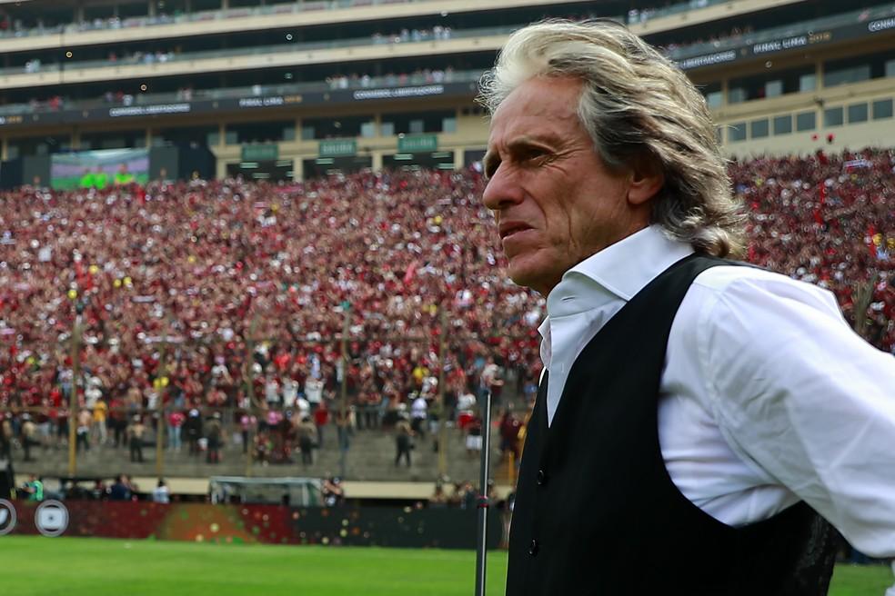 Fim da espera! Jorge Jesus aceita renovar com o Flamengo at� 2021