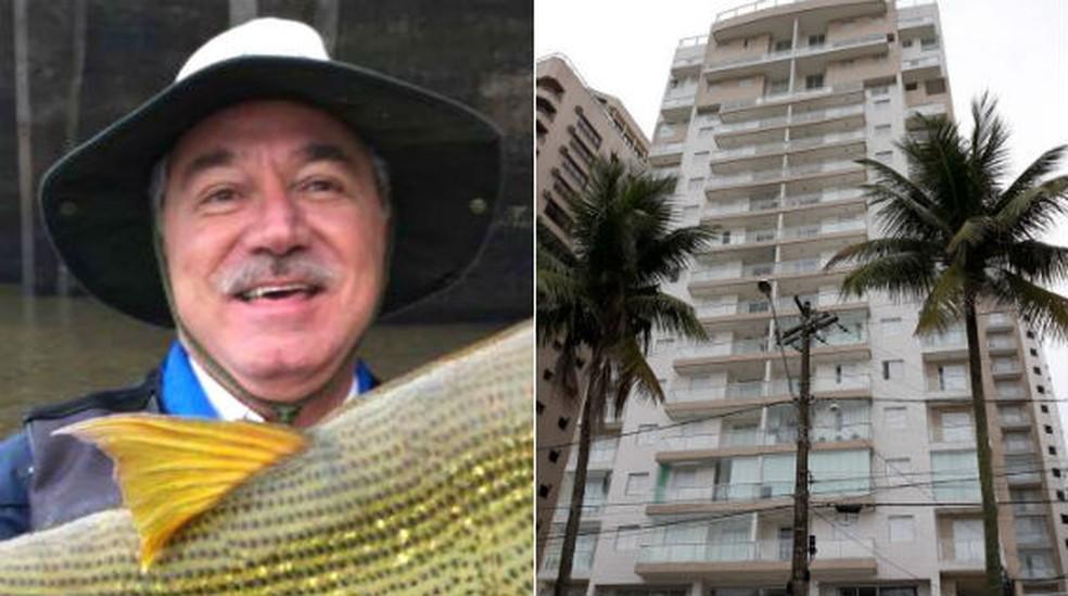 Empresário Fernando Costa Gontijo, que comprou o triplex na praia do Guarujá (SP) atribuído ao ex-presidente Luiz Inácio Lula da Silva (Foto: Fernando Costa Gontijo/Arquivo pessoal; João Amaro/G1)