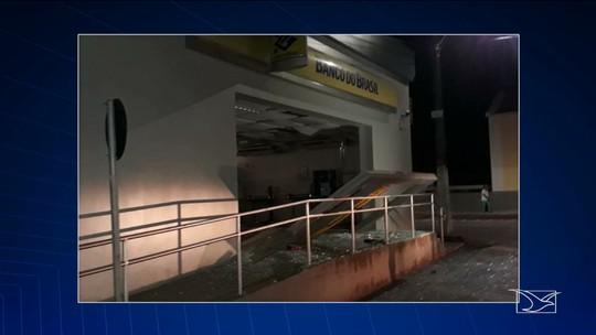 Polícia continua buscas por bandidos que tentaram assaltar agência bancário em Rosário