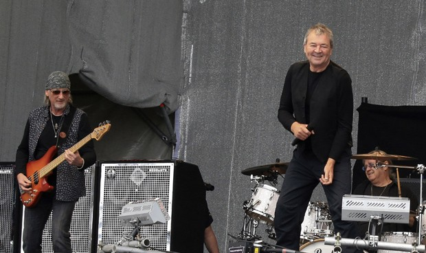 Roger Glover, Ian Paice e Ian Gillan, do Deep Purple: banda está entre as pré-selecionadas (Foto: Getty Images)