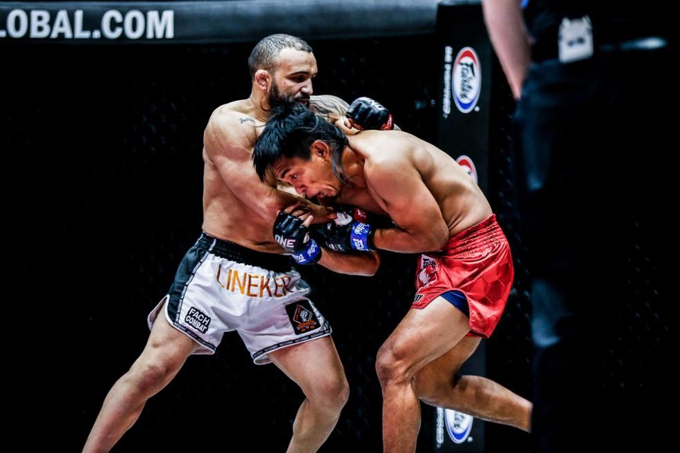 John Lineker x Kevin Belingon ONE Championship — Foto: Divulgação / ONE Championship