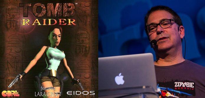 Joseph Olin estava no marketing do primeiro Tomb Raider de Lara Croft (Foto: Campus Party Brasil/Divulgação)