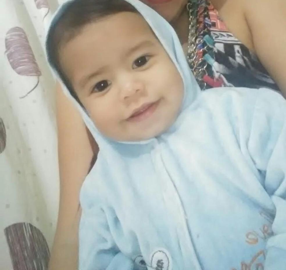 Anthony Daniel de Andrade Moraes, de um ano e três meses, morreu após socos e mordidas; a mãe e o padrasto foram presos em Praia Grande (SP) — Foto: Arquivo Pessoal