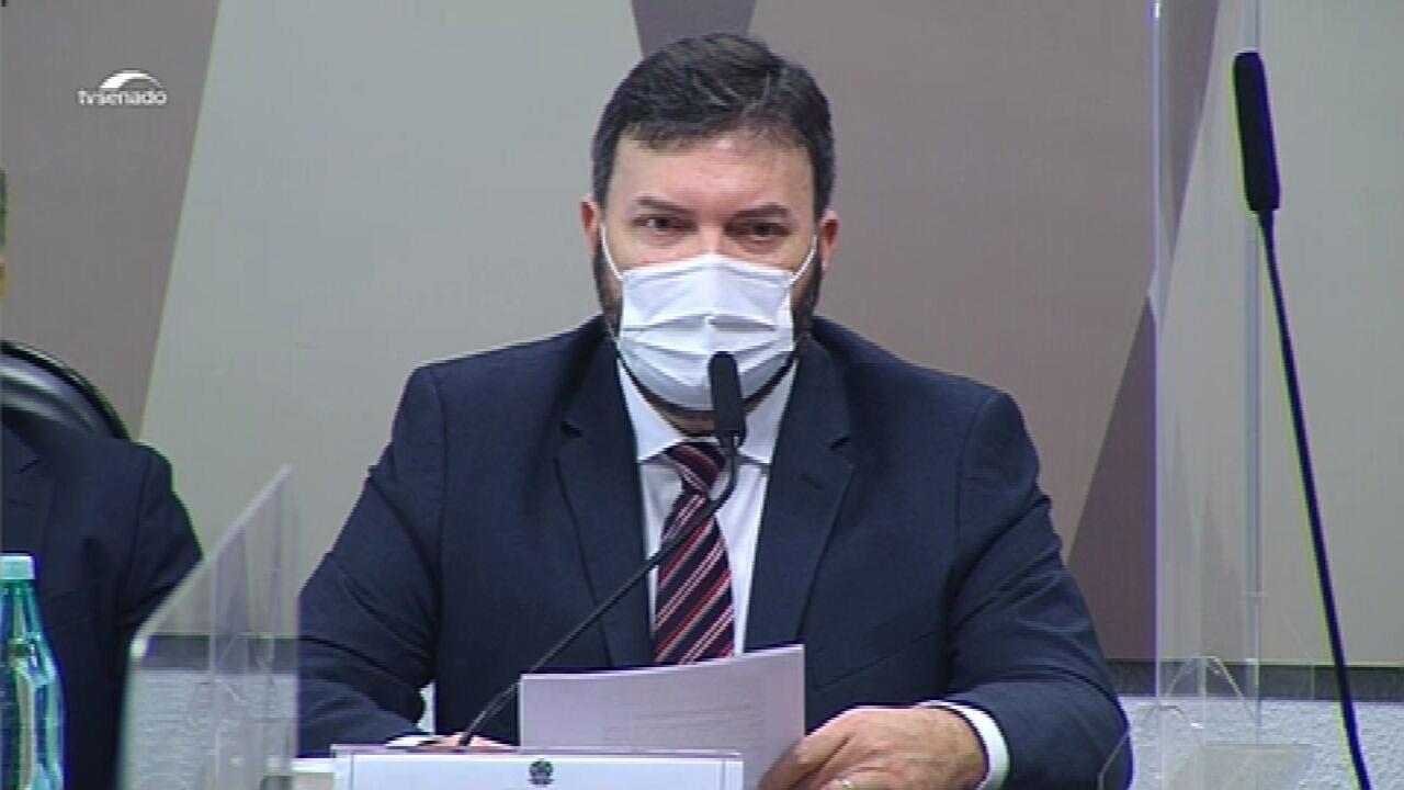 VÍDEOS: CPI da Covid ouve coronel Marcelo Blanco, ex-assessor do departamento de Logística do Ministério da Saúde