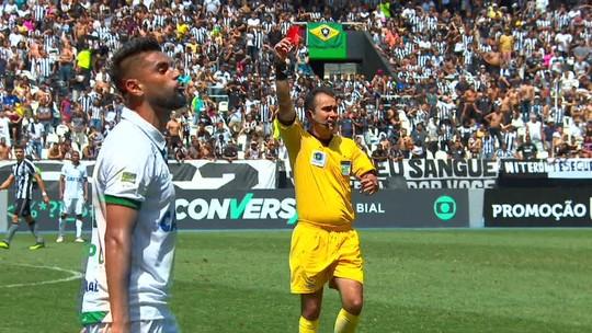 Atacante Luan é julgado pelo STJD por expulsão no fim do jogo entre Botafogo e América-MG