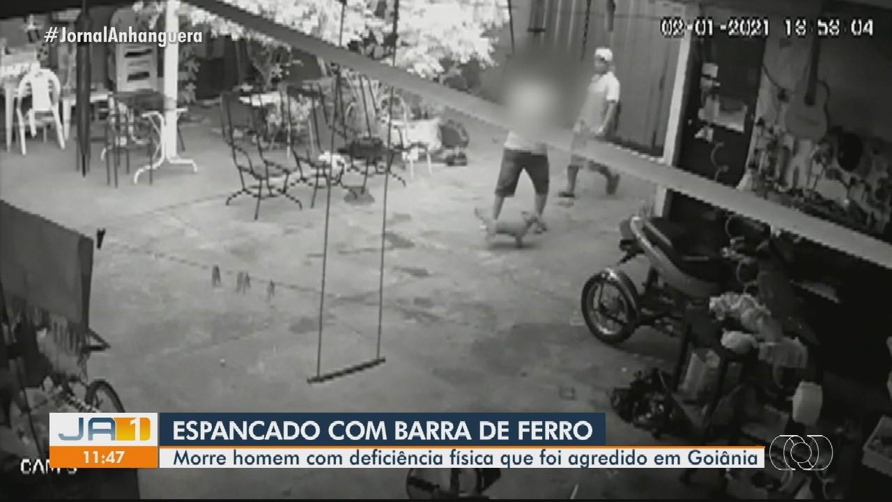 Morre homem com paralisia cerebral que foi agredido com golpes de ferro, em Goiânia