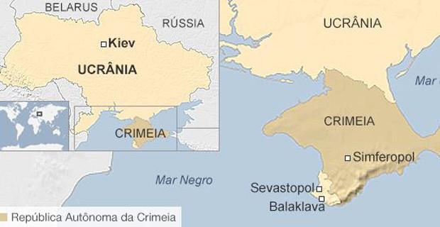 A situação regional dos países (Foto: BBC)
