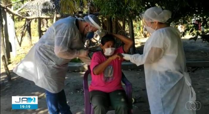 Trabalho de combate à Covid-19 é reforçado em aldeias do TO após mais de 200 diagnósticos