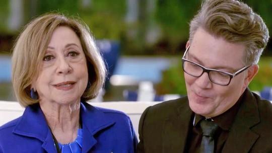 'Mister Brau': mãe de Gomes vira hóspede de Michele e irrita o astro