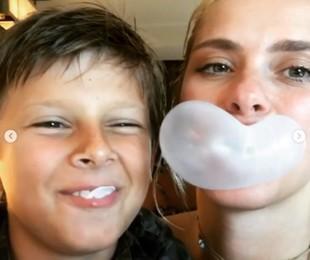 Carolina Dieckmann e o filho José | Reprodução Instagram
