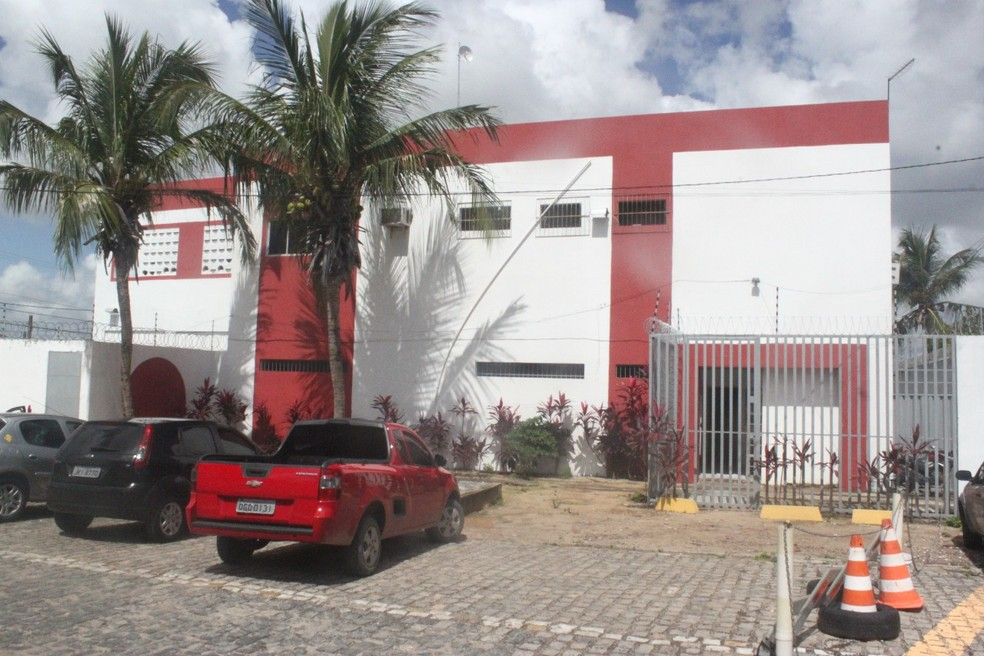Centro de Detenção Provisória Feminino de Parnamirim, na Grande Natal (Foto: Igor Jácome/G1)