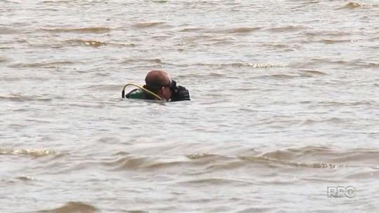 Bombeiros encontram corpos de dois jovens que se afogaram no Rio Iguaçu