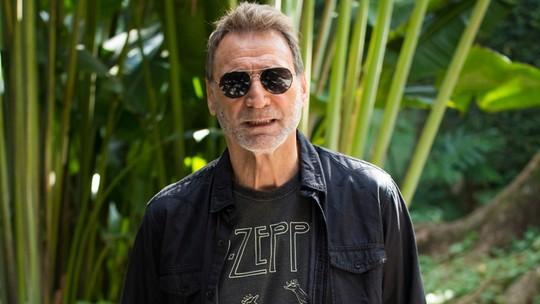 Herson Capri vive pai de Alinne Moraes em 'Rock Story' e comenta relação com os filhos fora das telas: 'Todos são mimados'