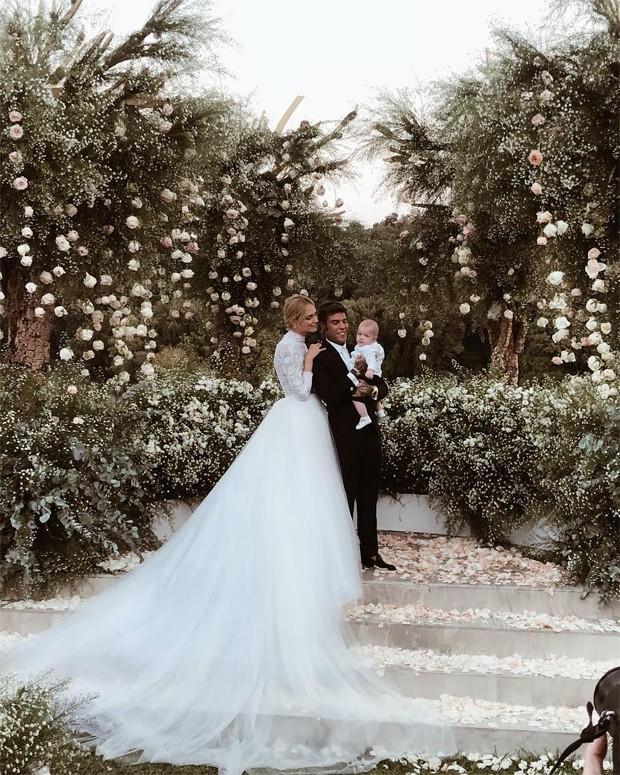 Chiara Ferragni se casa com o rapper Fedez (Foto: Reprodução / Instagram)