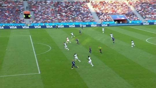 """Cissé admite superioridade do Japão mas se irrita com placar: """"Duas vezes na frente"""""""