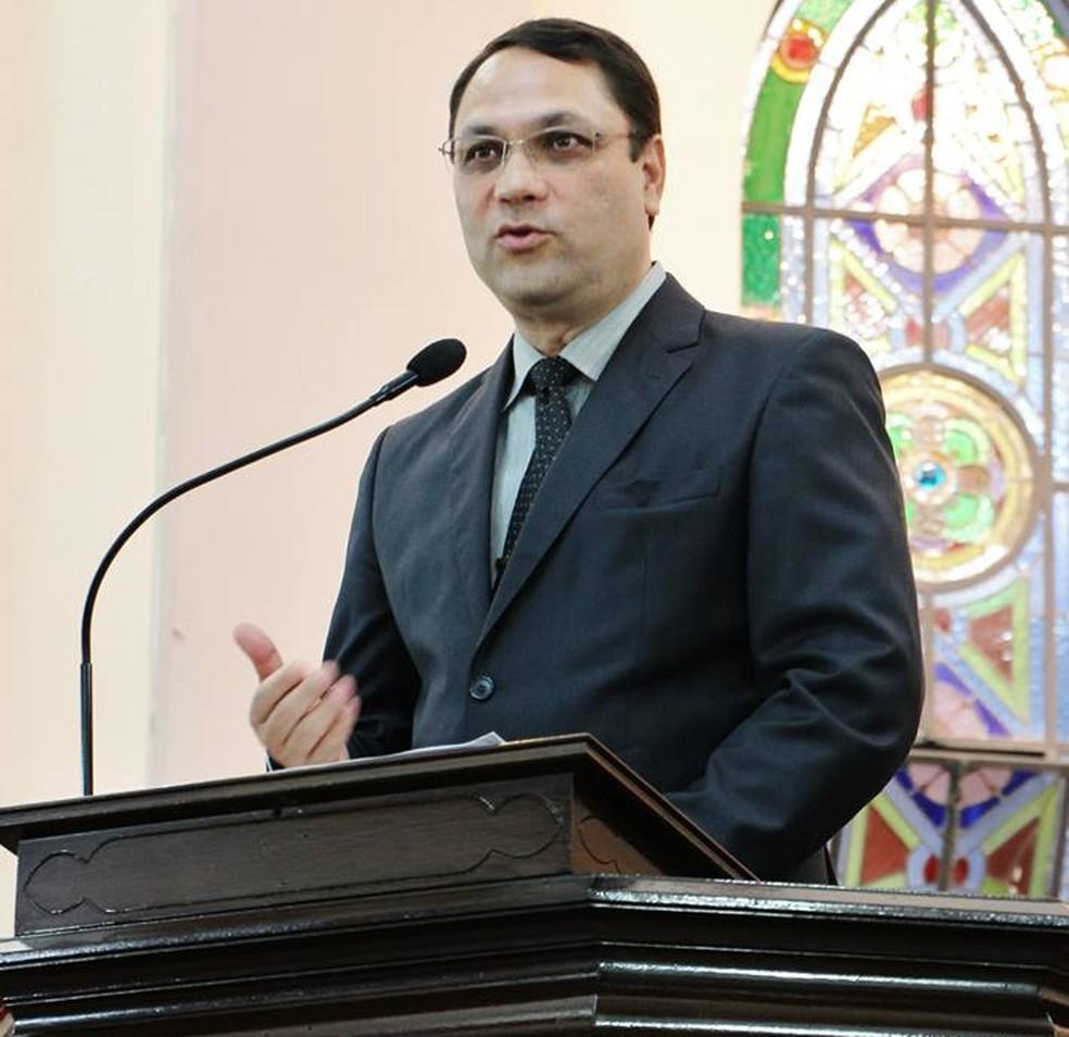 Pastor evangélico da Igreja Presbiteriana, em Campinas, Carlos Eduardo Aranha Neto. — Foto: Carlos Eduardo Aranha Neto/Arquivo pessoal