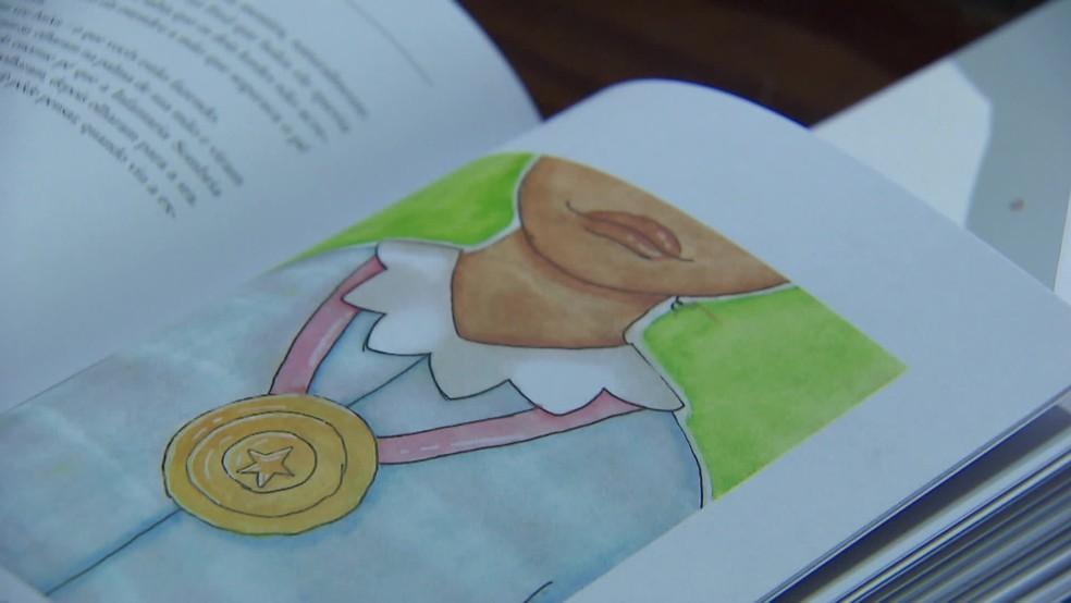 Ilustração de Marina Galdino no livro 'Ickabog', da autora J.K. Rowling — Foto: Reprodução/TV Globo