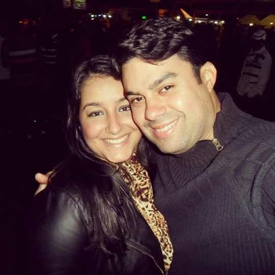 Agatha e Anderson Gomes (Foto: Reprodução)
