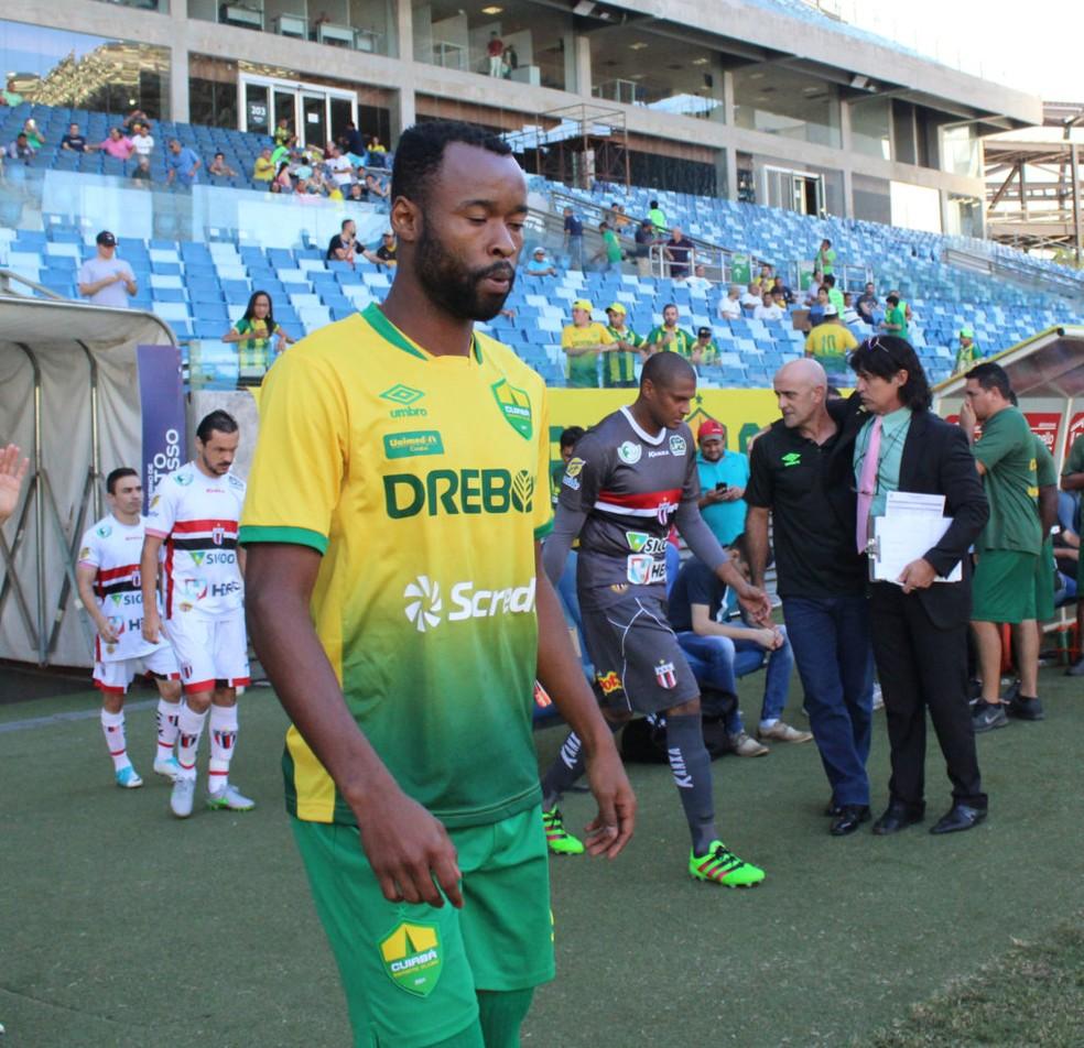 5e0a2fcc77 ... Marcão Silva fez 12 partidas pelo Cuiabá na Série C — Foto  Site  oficial do