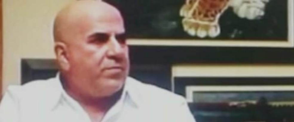 Jorge Rafaat, traficante morto no Paraguai — Foto: Reprodução/TV Globo