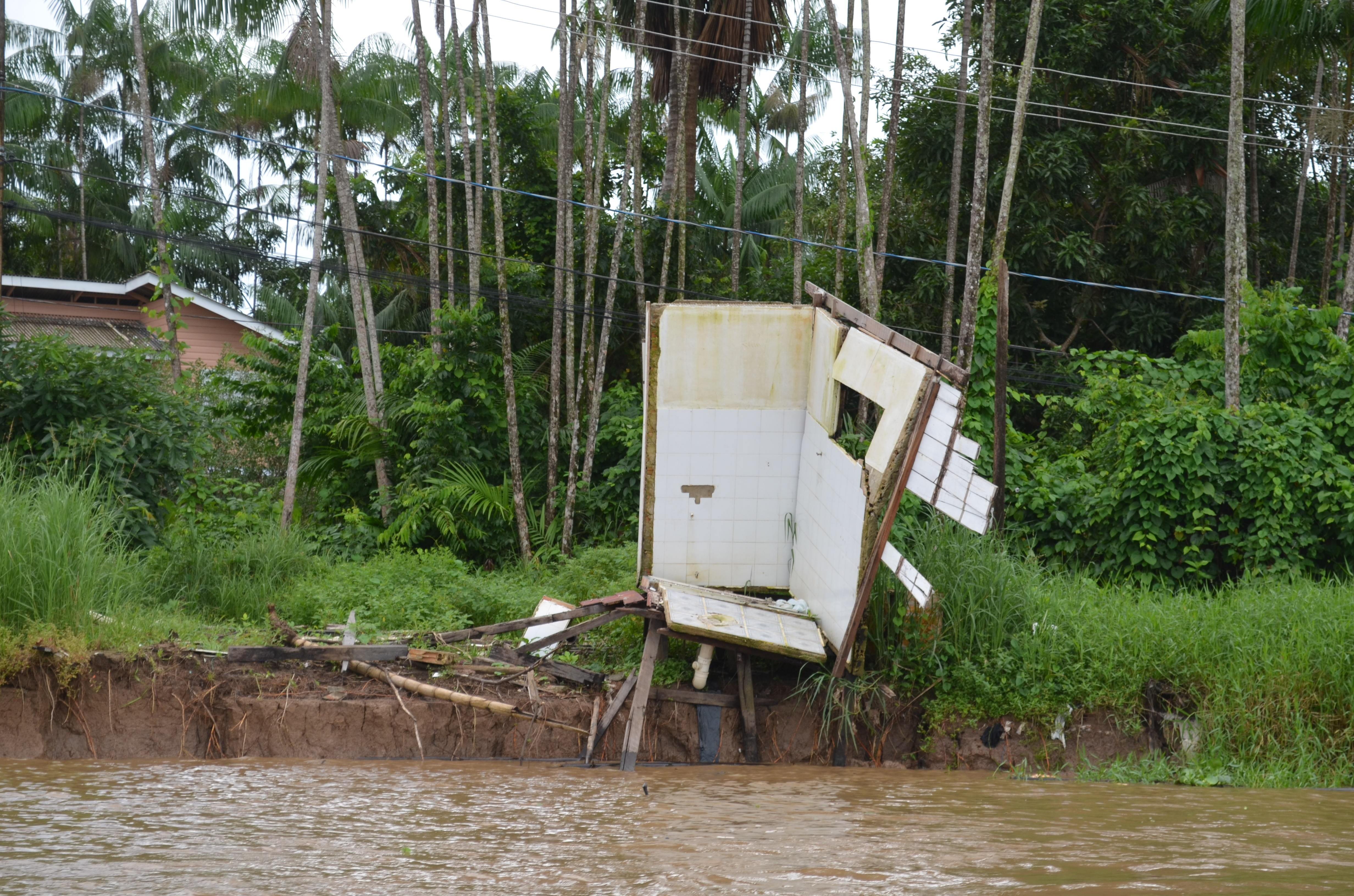 União reconhece situação de emergência em municípios do AP devido a 'terras caídas'