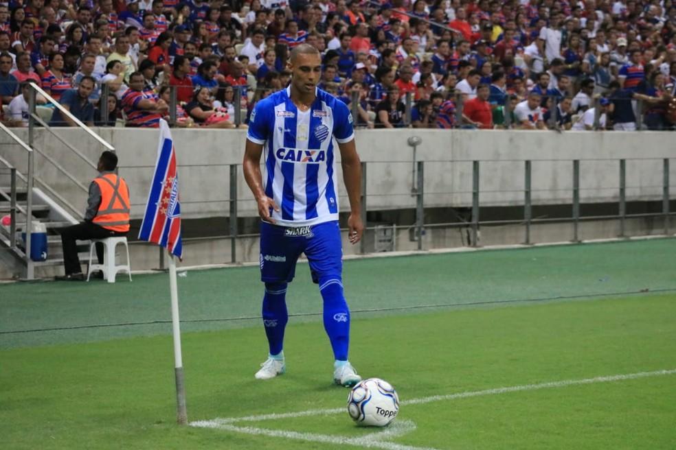 Celsinho chegou ao CSA em 2017 — Foto: Ronaldo Oliveira/ASCOM CSA