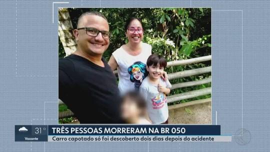 Acidente com família em que apenas criança sobreviveu em MG teve testemunha: 'Vi dois carros capotados'